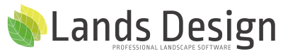 Lands Design logo
