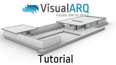Tutorial de VisualARQ en español: modelado y documentación del pabellón de Barcelona