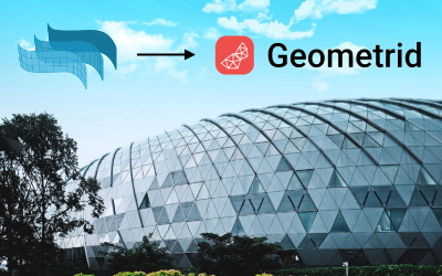 Design to construction and maintenance workflow with VisualARQ and Geometrid
