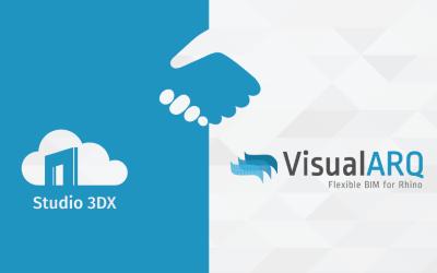 Studio 3DX and VisualARQ Partnership