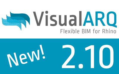 VisualARQ 2.10 available