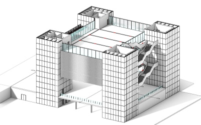 Alberto Ferrero, proyecto de VisualARQ para el Concurso de diseño BIM para estudiantes 2021