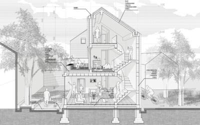 Concurso VisualARQ BIM 2021 - Kuang He - Nanjing University - S House