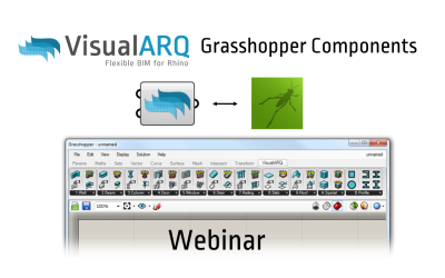 VisualARQ Grasshopper Components webinar recorded