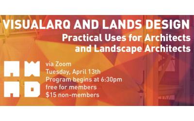 VisualARQ presentation at AWA+D in Los Angeles on April 13th