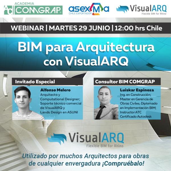VisualARQ WEBINAR COMGRAP Chile