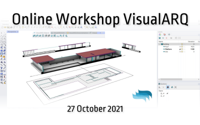 Getting started with VisualARQ free workshop on October 27th