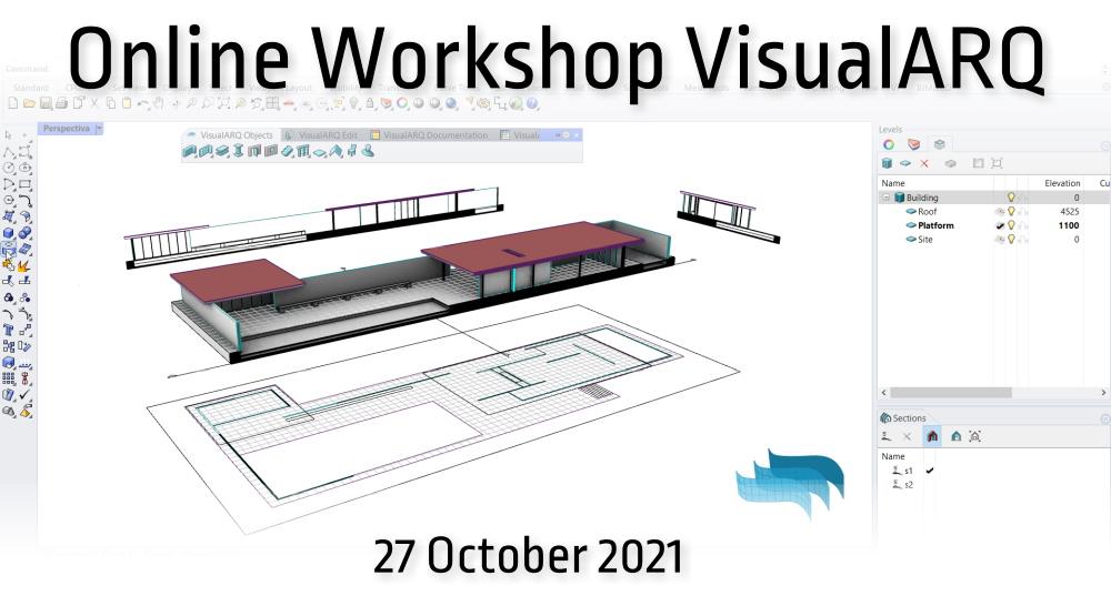 Mies Pabilion Rhino VisualARQ webinar