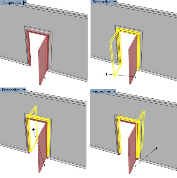 Puntos de control de la puerta