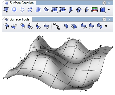 Freeform Modeling VisualARQ Flexible BIM - Free form