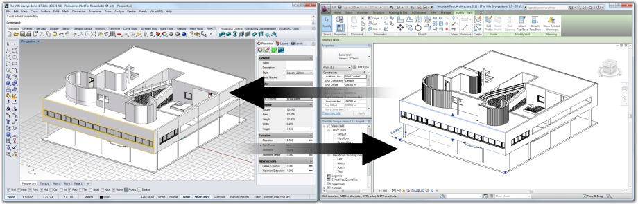 IFC Translator. From VA to Revit IFC