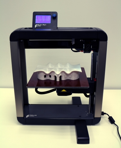 VisualARQ model with the Felix Pro1 3D printer
