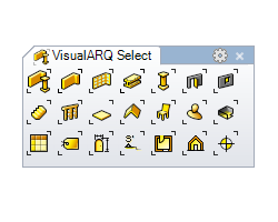 Select toolbar 250