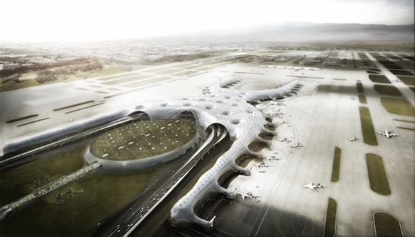 The new Mexico City Airport by Foster and Partners