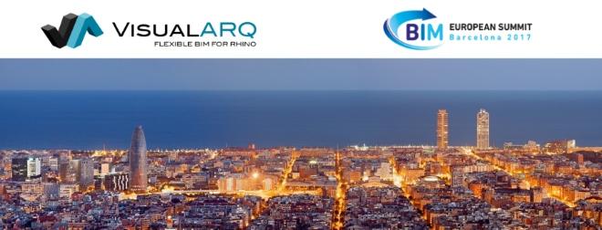 VisualARQ at the BIM EUROPEAN SUMMIT 2017